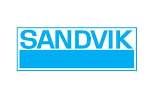 Sandvik logo - Lean Six Sigma Training - Thornley Group